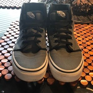 Vans. High top Sneakers. Size 5.5M (7W)